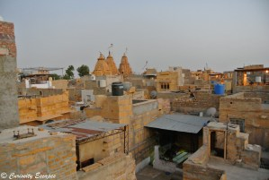 Temples dans le fort de Jaisalmer