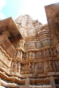 Façades de Khajuraho