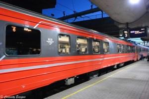 Gare centrale d'Oslo, direction les fjords de l'ouest