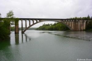 Viaduc de St Hilaire du Rosier sur l'Isère