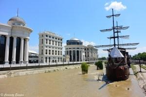 Monuments classiques de Skopje, construits en 2010