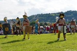 Combat de gladiateurs au musée gallo-romain de St-Romain-en-Gal