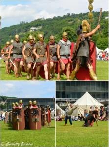 Combat de Vercingétorix contre César au musée gallo-romain de Vienne
