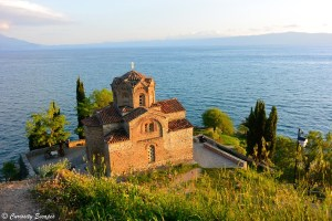 Sv Jovan Kaneo sur le lac d'Ohrid
