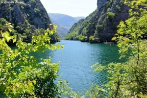 L'entrée du canyon de Matka en Macédoine