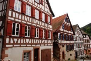 Sublimes maisons à colombages de Schiltach, Allemagne