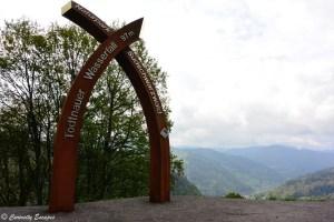 Arche pour les cascades de Todtnauer, Forêt Noire