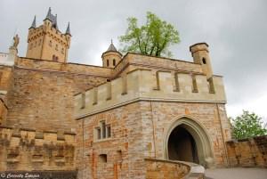 Remparts du château de Hohenzollern, Allemagne