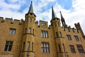 Façade du château de Hohenzollern