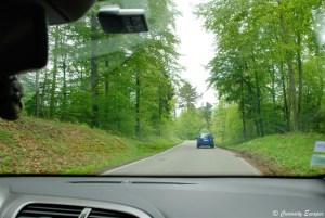 Route d'accès au château de Hohenzollern, Allemagne