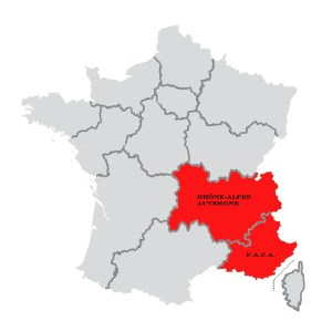 Quart Sud-Est de la France