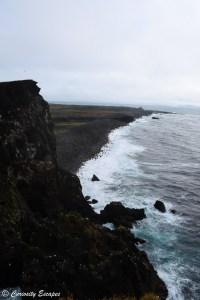 Falaises vertigineuses de Reykjanesviti