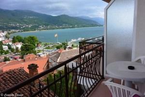 Chambre avec vue sur le lac Ohrid