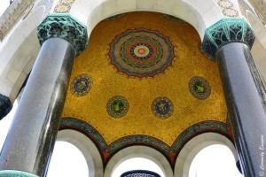 Dôme doré de la fontaine allemande, Istanbul