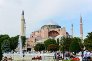 Eglise, puis mosquée puis musée Ayasofya, Istanbul