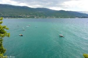 Lac Ohrid en Macédoine