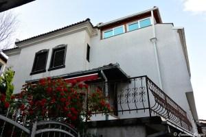 Maison fleurie d'Ohrid, Macédoine