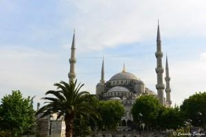 Mosquée Bleue aux six minarets d'Istanbul