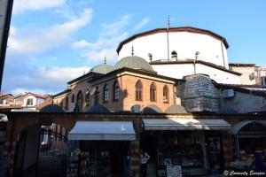 Mosquée Ali Pasha dans le centre d'Ohrid