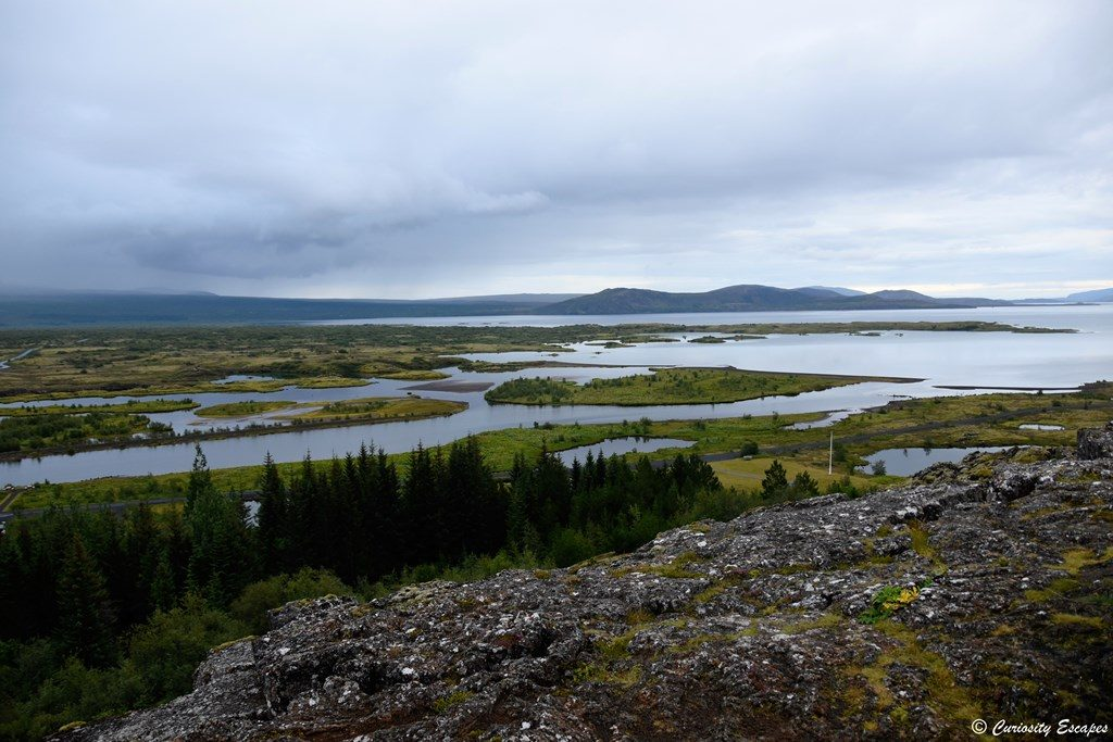 Vue du parc national de Thingvellir