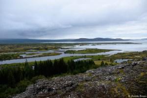 Vue du parc national de Thingvellir