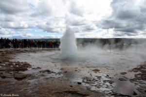 Eruption de Strokkur