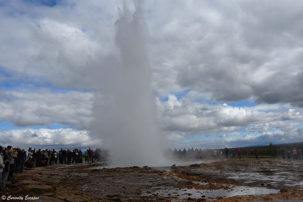 Eruption de Strokkur