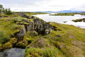 Lac Þingvallavatn au parc national de Þingvellir