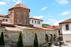 Monastère Sv Naum au bord du lac Ohrid, Macédoine