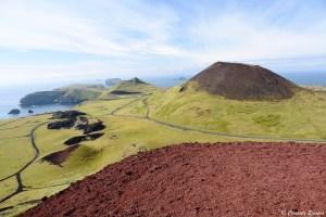 Paysage de l'île d'Heimaey