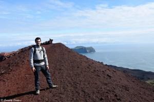 Volcan Eldfell, îles Vestmann
