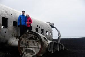 Epave d'avion américain en Islande