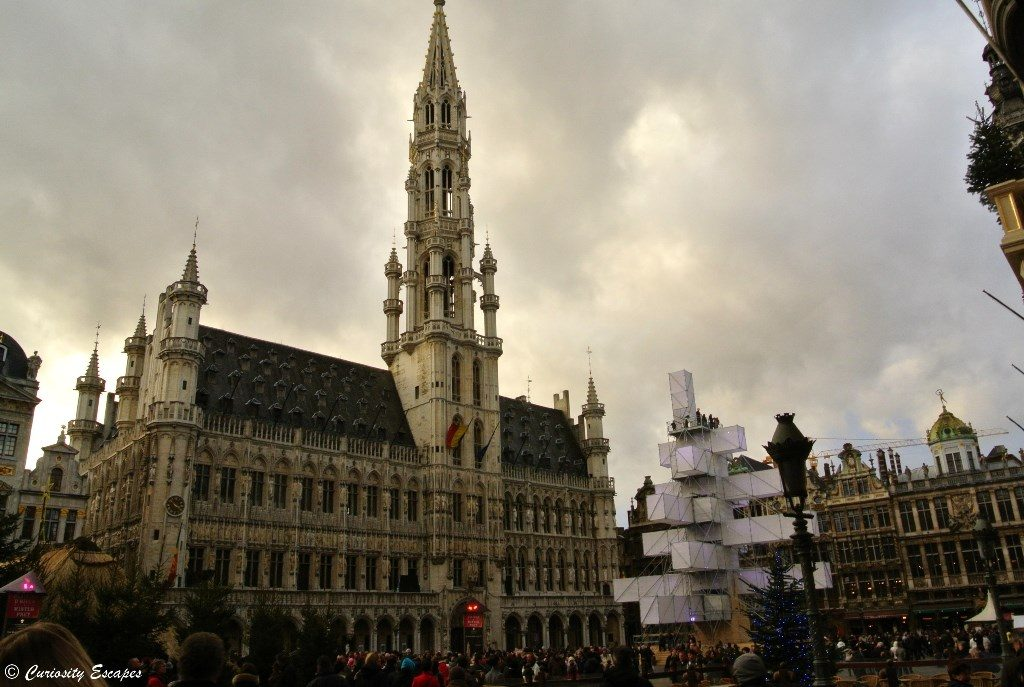 Grand Place de Bruxelles en journée