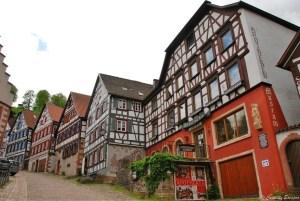 Maisons à colombages du village de Schiltach