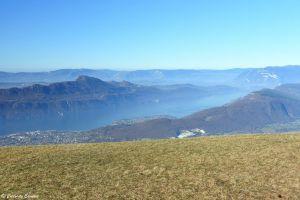 Lac du Bourget du mont Revard, Savoie