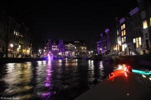 La Venise du Nord, éclairée par les lumières de Noël