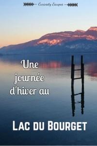 Le Lac du Bourget en hiver - Savoie