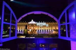 Place Stanislas de Nancy de nuit