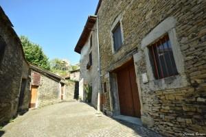 Maisons en pierre à Crémieu