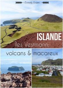 Pinterest des îles Vestmann en Islande