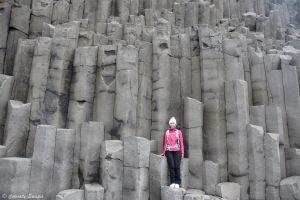 Colones de basalte sur Reynisfjara