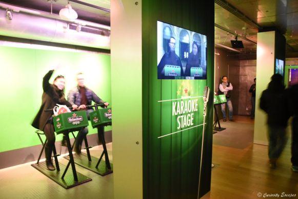 Salle de jeux chez Heineken Experience, Amsterdam