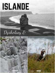 Dyrholaey et Reynisfjara dans le sud de l'Islande