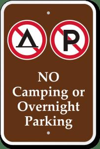 No camping en Islande