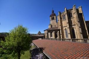 Vue sur le choeur de l'abbaye de Saint Antoine