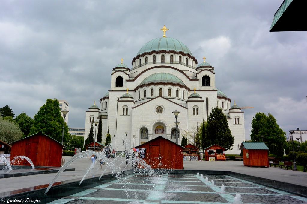 Temple de Sait Sava à Belgrade, Serbie
