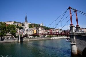 Pique-nique sur les quais de Saône, à Lyon