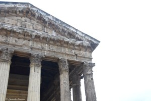 Temple d'Auguste et de Livie de Vienne
