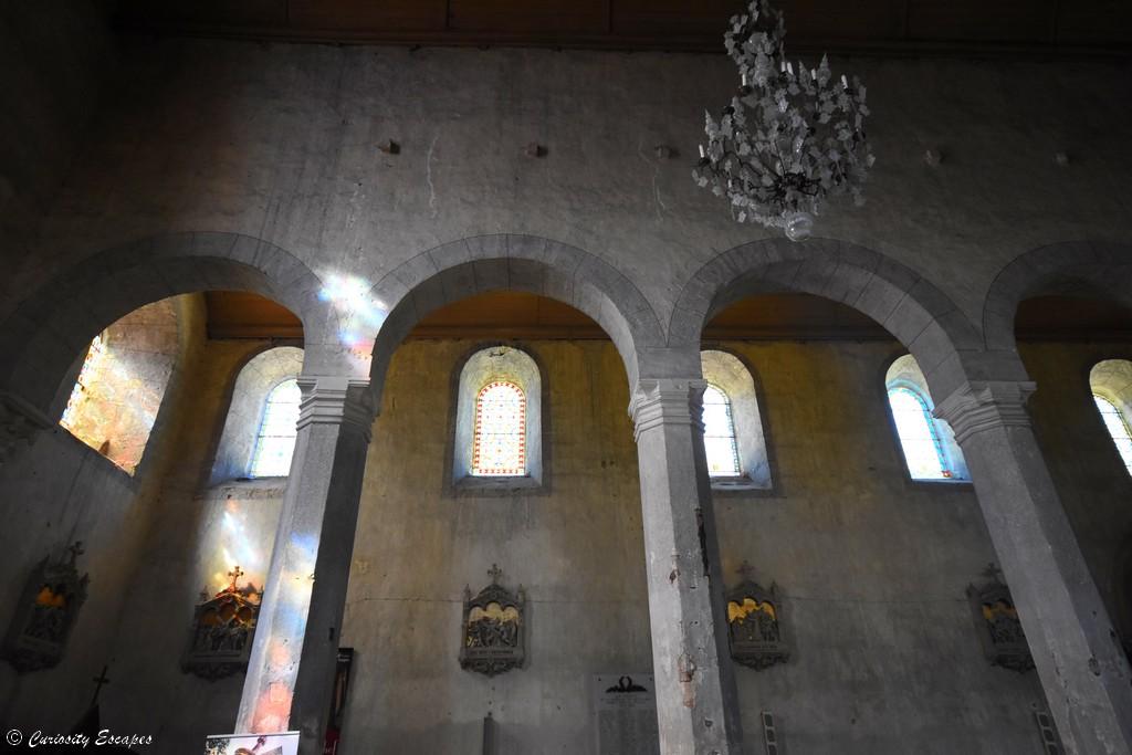Intérieur de l'abbaye de Saint Chef