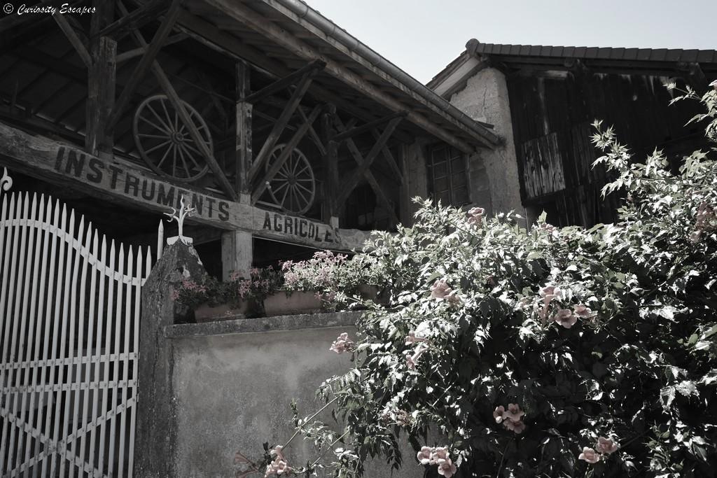 Village de Saint Chef en Isère